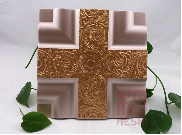 禾石-3D艺术背景墙砖-双色伯爵板