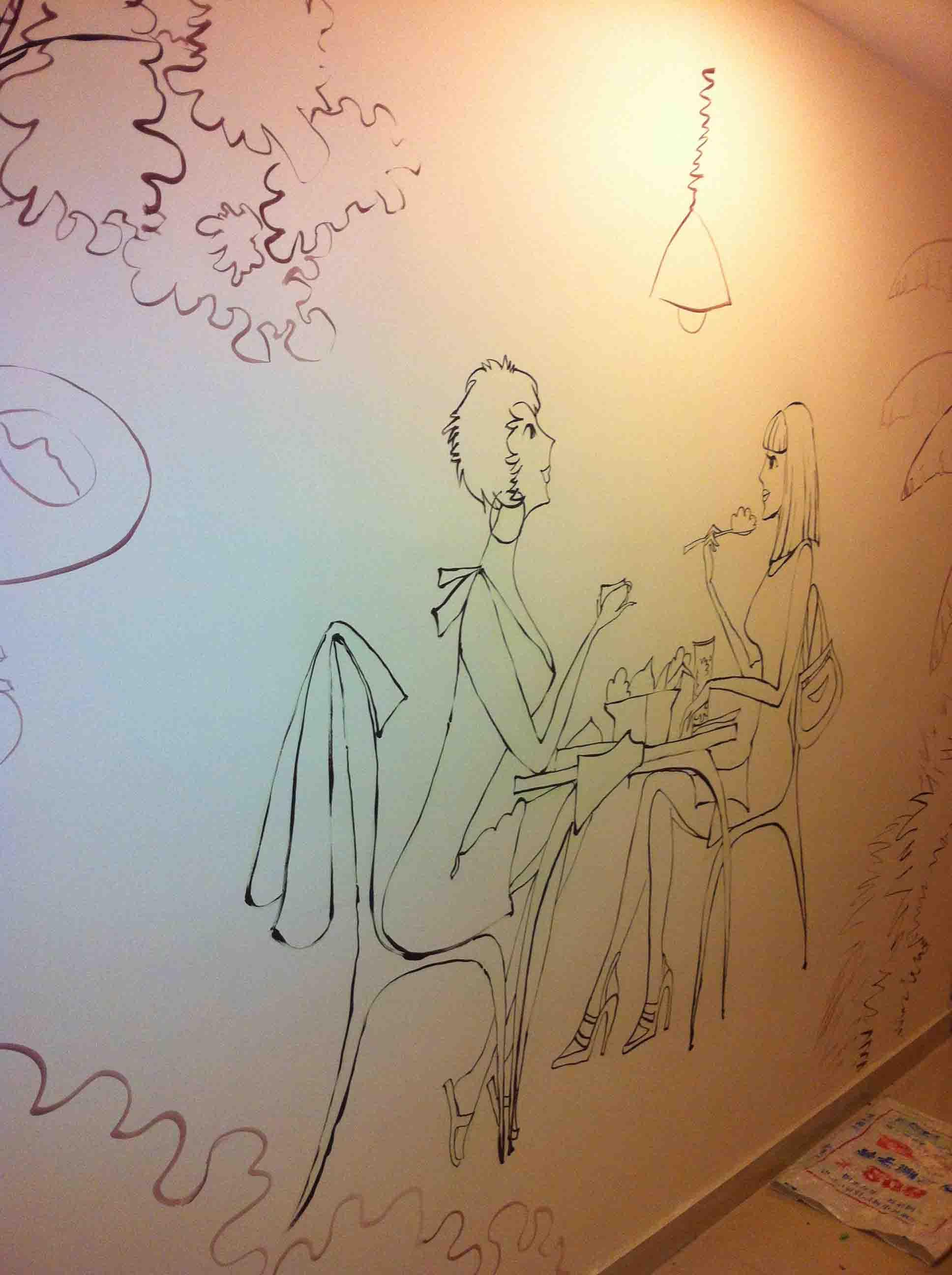 丹东油画763_油画_沈阳画欣手绘墙画/墙体彩绘/彩绘墙