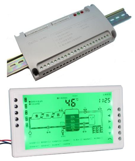多路循环太阳能工程控制器