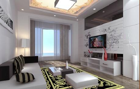 艺彩地板室内装潢案例