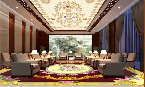 艺彩地板会议室装潢案例