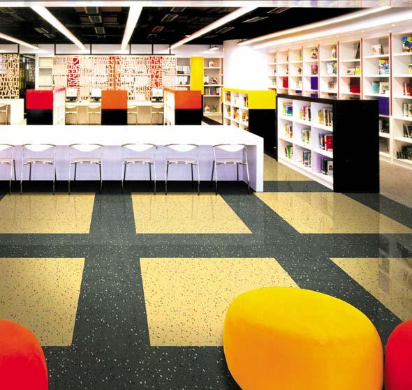 写字楼办公楼办公室专用橡胶地板