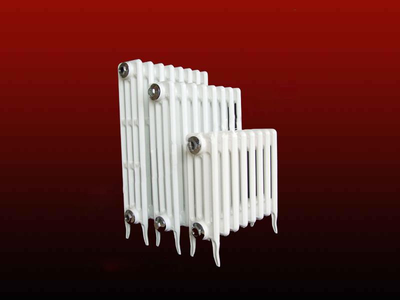 铸铁四柱喷塑暖气片11
