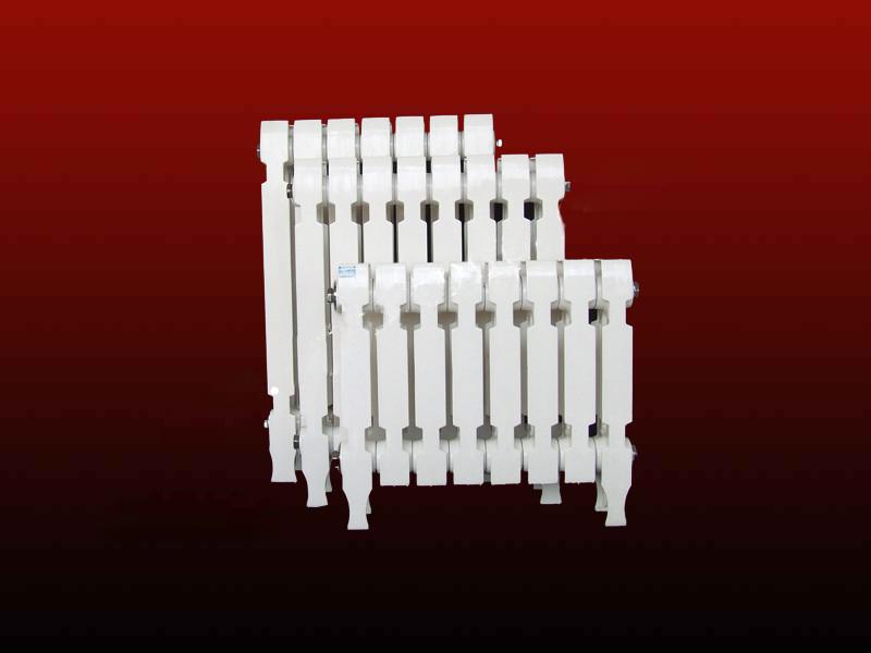 铸铁柱翼喷塑暖气片1