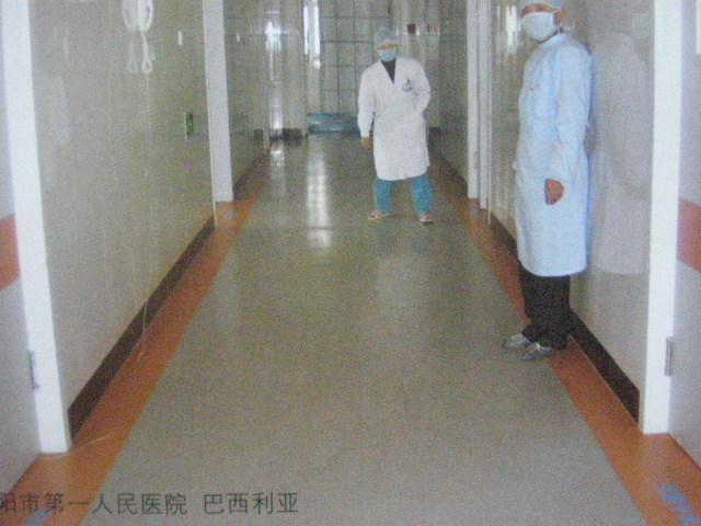 牛奶厂专用抗菌PVC卷材地板