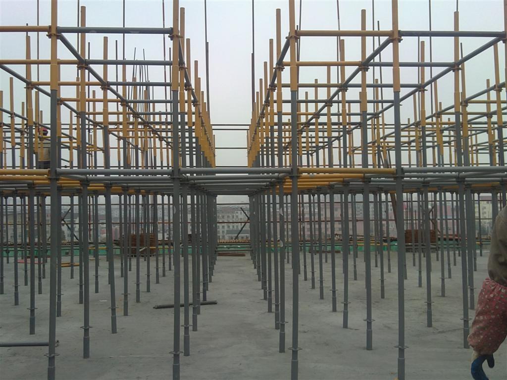 新型模板支撑模板支撑体系建筑模板支撑