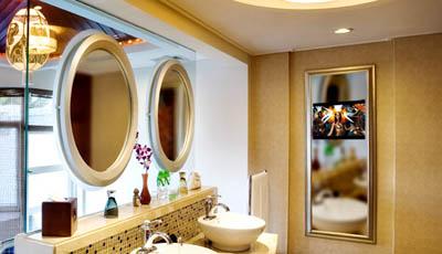 镜面电视透明玻璃