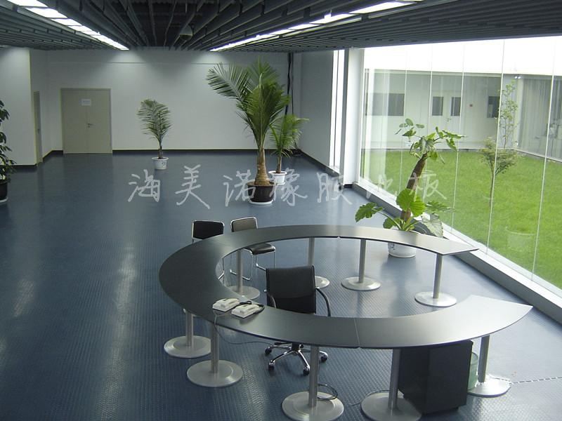 办公楼专用橡胶地板 图书馆橡胶地板卷材 片材