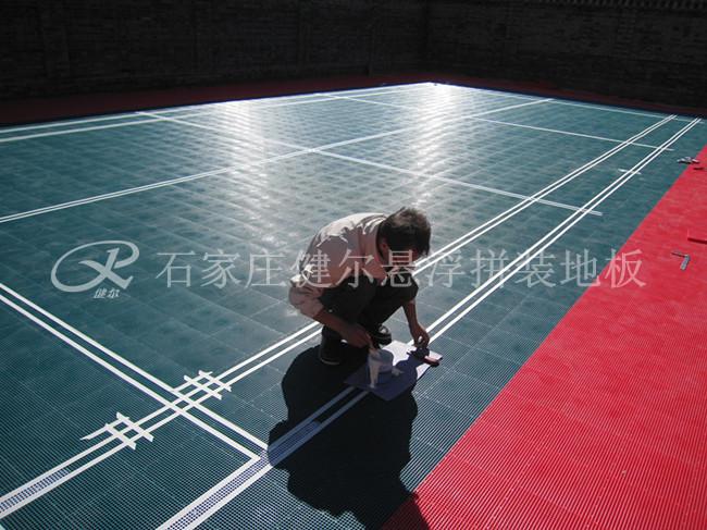 牡丹江悬浮拼装地板