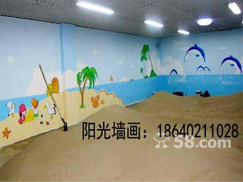 沈阳幼儿园墙体彩绘