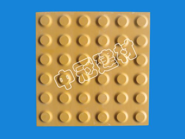 国标型耐磨盲道砖 盲条砖首选中冠耐酸建材