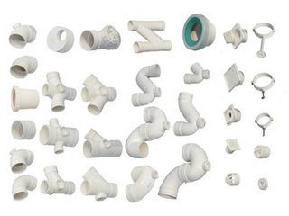 PVC给排水管材管件
