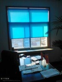 淡蓝色卷帘系列2
