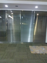 办公窗透明式卷帘系列1