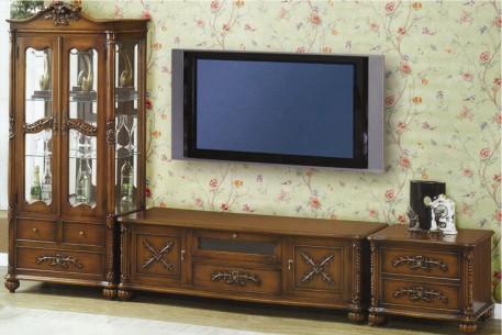 韩国进口桃花芯木YERAM家具--电视柜2