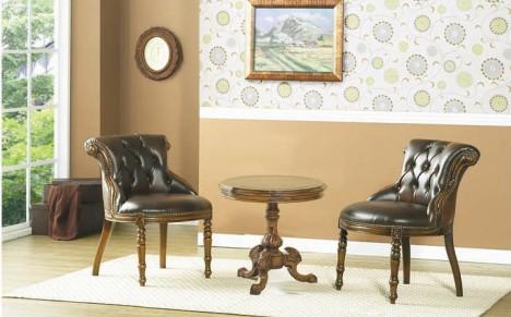 韩国进口桃花芯木YERAM家具--椅子3