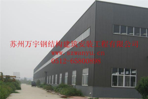 常州展厅管桁架钢结构厂房加工设计制作