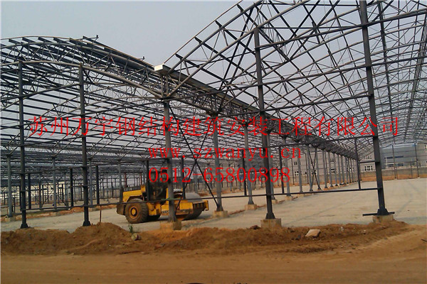 常州展厅网架管桁架钢结构厂房车间仓库