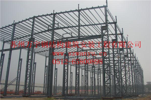 常州屋面展厅网架管桁架多层钢结构厂房车间仓库