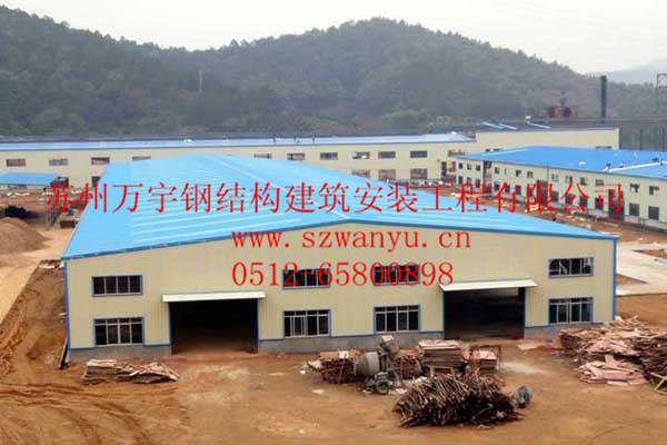 常州屋面展厅网架管桁架钢结构厂房构仓库加工出口