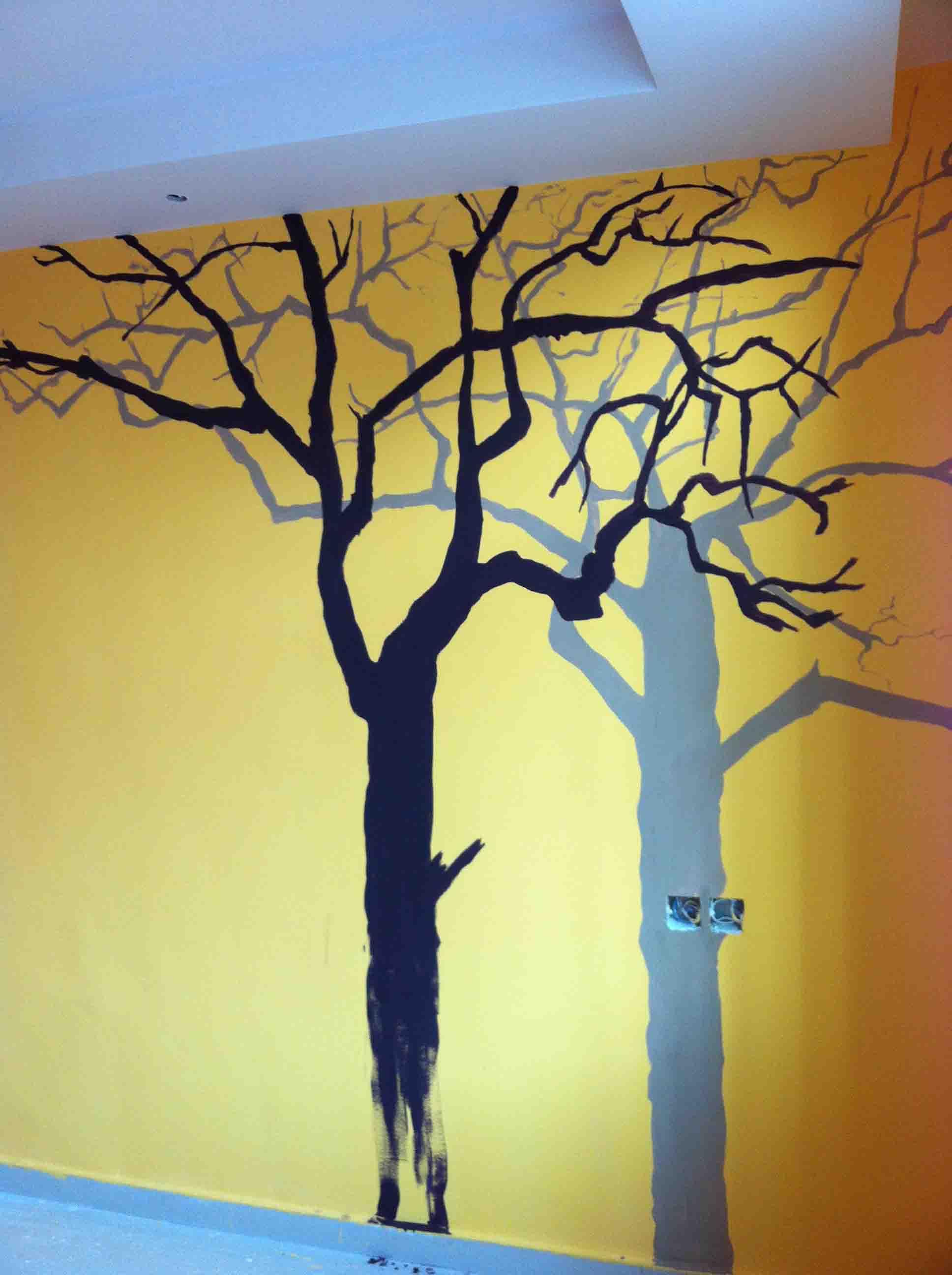 年工手绘墙画,地画,立体画,隐形画,彩砂画,油画