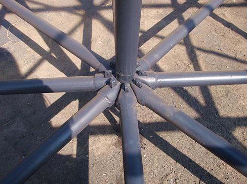 高山标准层轮扣架立柱价格表