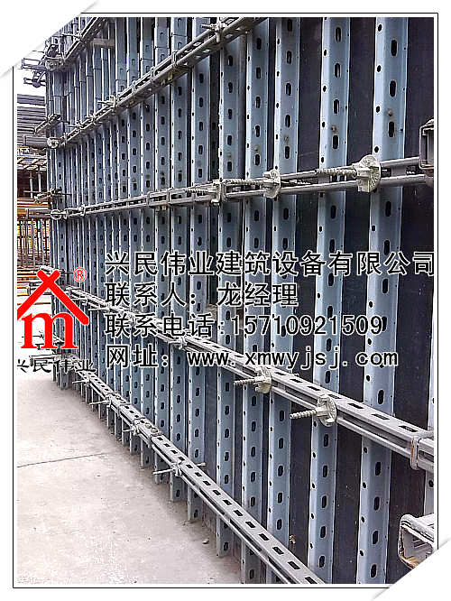 剪力墙模板支撑组合结构