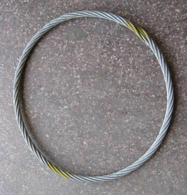 压制钢丝绳吊索具,无接头钢丝绳