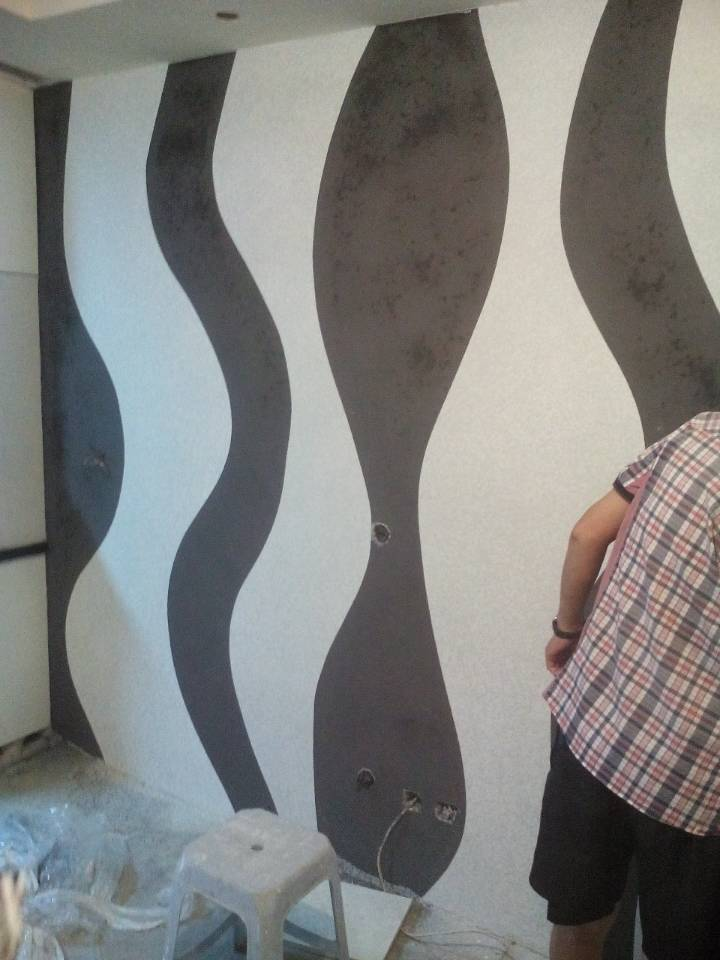 东方银座背景墙