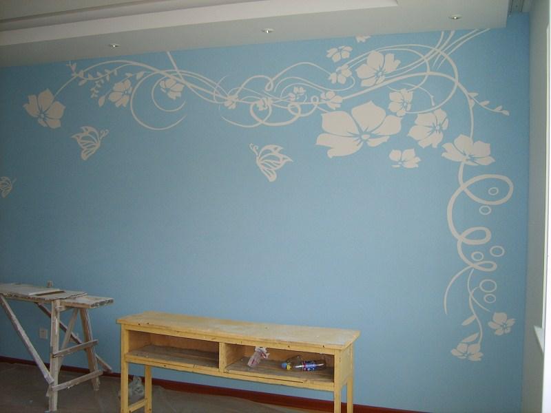 硅藻泥电视背景墙效果图8
