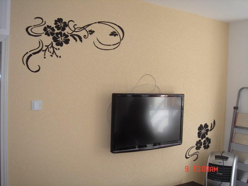硅藻泥电视背景墙效果图10