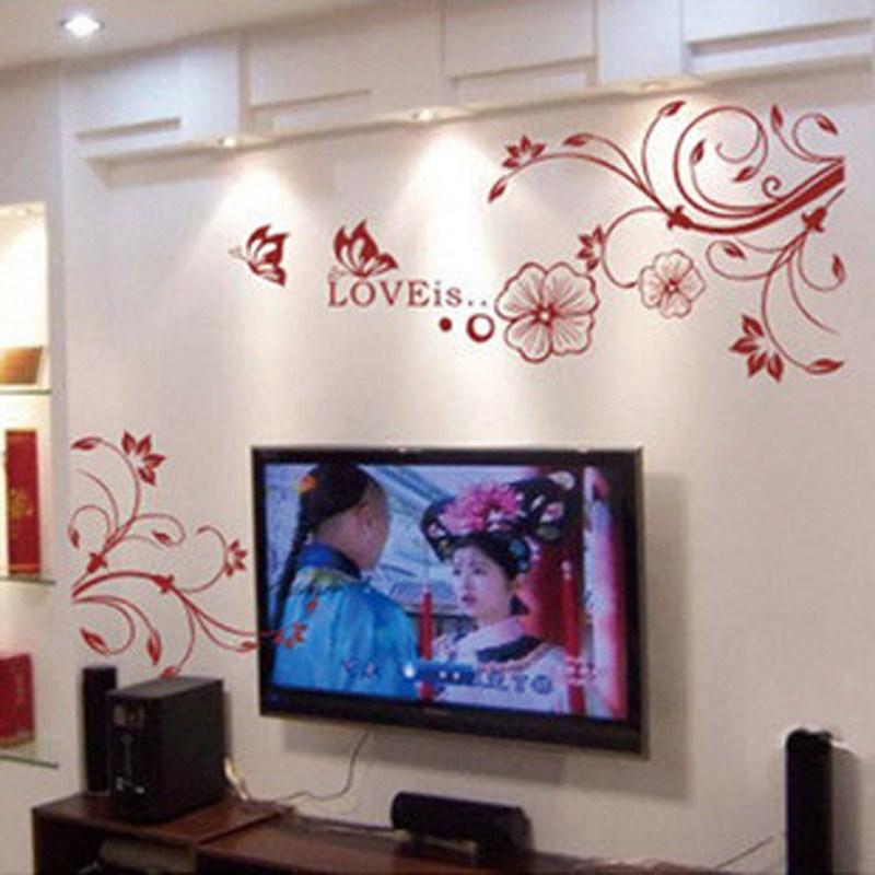 硅藻泥电视背景墙效果图9