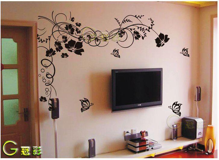 硅藻泥电视背景墙效果图2