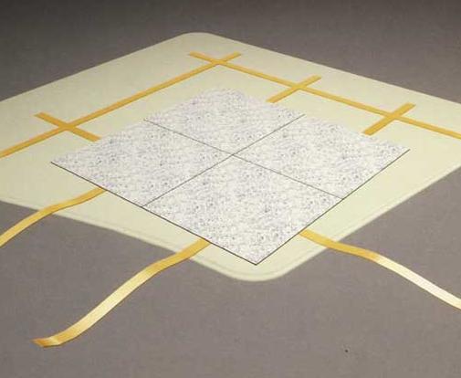 直铺式永久型PVC防静电地板