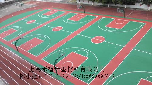 供应弹性丙烯酸球场材料/上海禾禧厂家销售