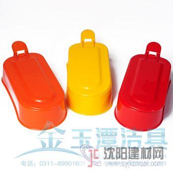 便携轻制质蹲便器,塑料蹲便器  一次性塑料马桶
