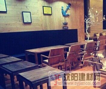 老榆木酒吧家具定制质优物美
