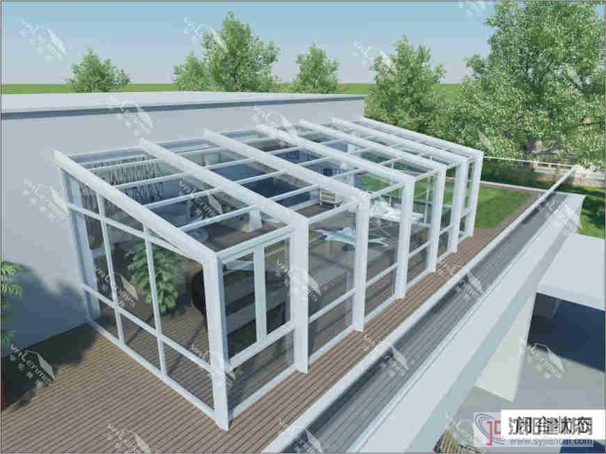 A3款阳光房是唐亚铝业从国外引进的一款针对中低端市场设计开发的阳光房系统。 该款式阳光房成本造价低廉、制作简易、系统结构性优越、型材组合合理、外观唯美,是传统铝方通、钢结构、不锈钢阳光房理想更新换代产品。 阳光房材料 http://www.timya.cn