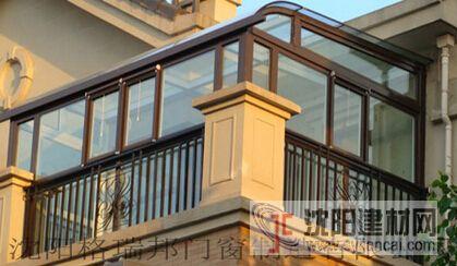 别墅钢管式阳光房