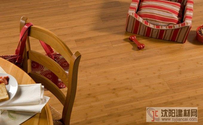 百利出口碳化平壓竹地板