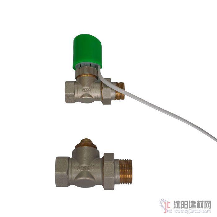 大连分水器电动温控阀图片