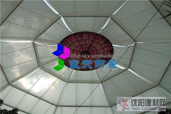 北京御隆会馆玻璃穹顶采光顶遮阳