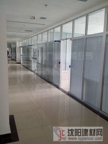 办公玻璃隔断4