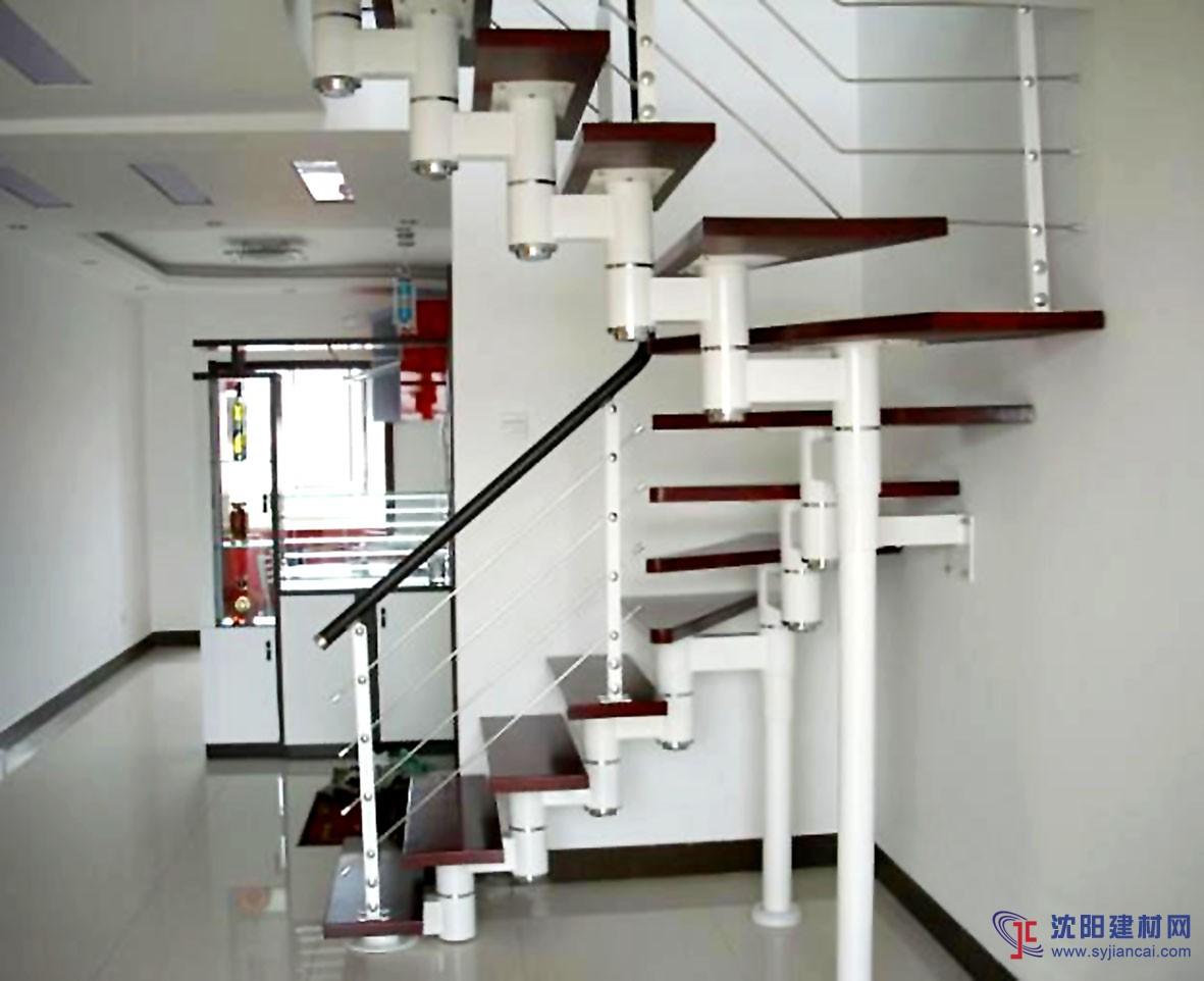 """公司属下""""粤美""""品牌是专业生产和销售各式不锈钢楼梯,工程楼梯,旋转楼图片"""