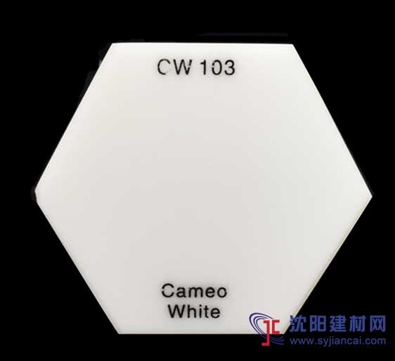美国杜邦可丽耐人造石CW103奶白