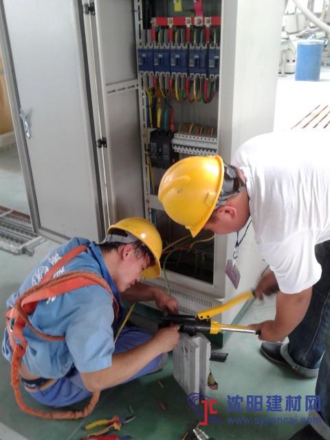 沈阳电工工程施工厂房机械安装电缆铺设