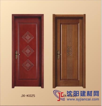 卖点:厂内所有烤漆套装门均标配全实木线条