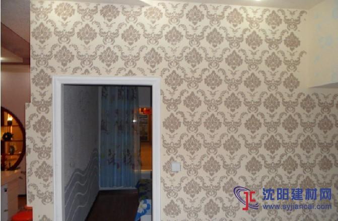 沈阳碧然硅藻泥背景墙效果图欧式壁花1
