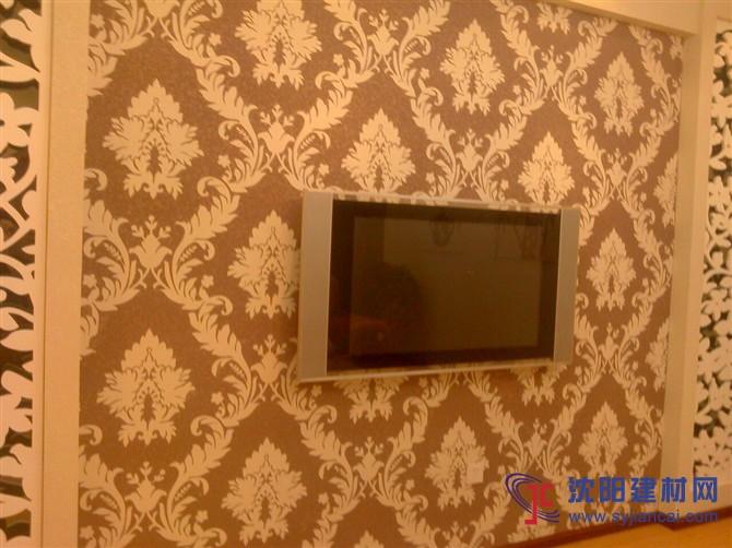 沈阳碧然硅藻泥背景墙效果图欧式壁花6