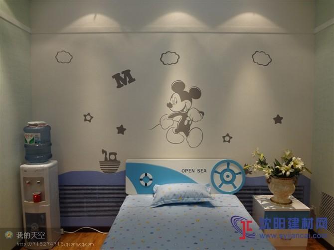 沈阳碧然硅藻泥背景墙效果图卡通动漫8-卡通动漫 产品展示 沈阳碧然
